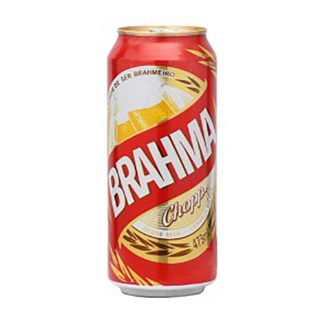 CERVEJA BRAHMA LATÃO 473ML X12