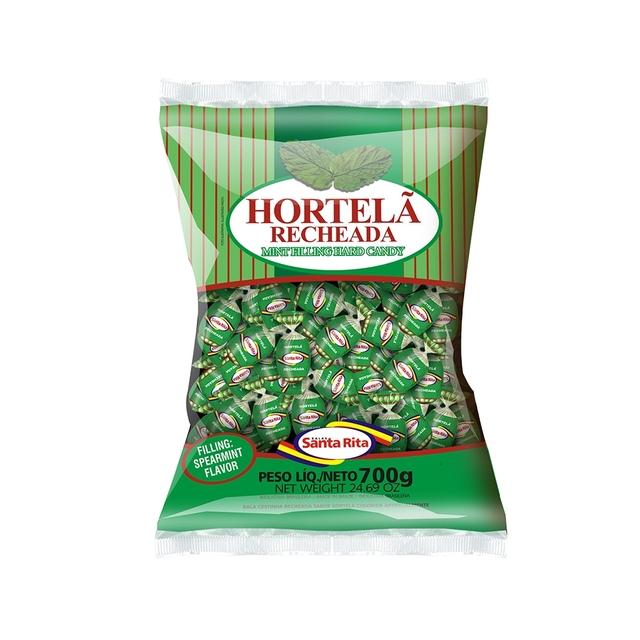 BALA SANTA RITA CESTINHA HORTELA 600G