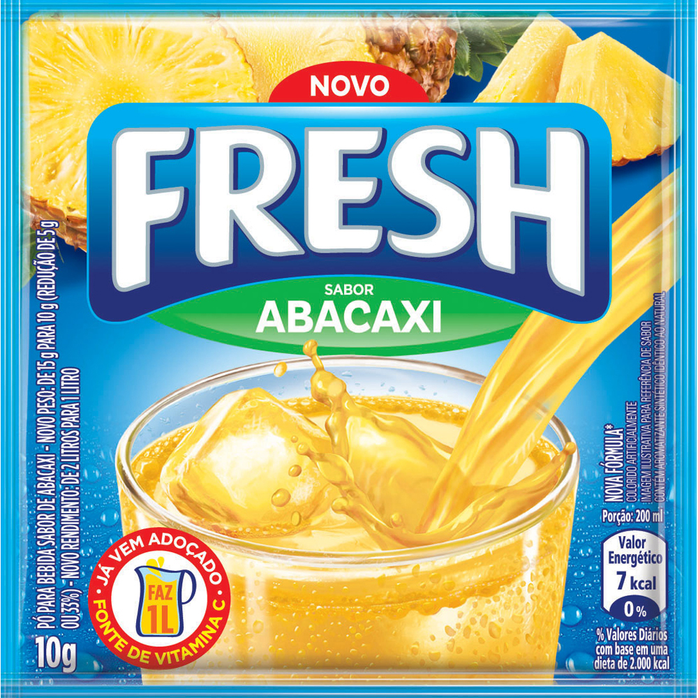 REFRESCO FRESH 10G ABACAXI DP X15