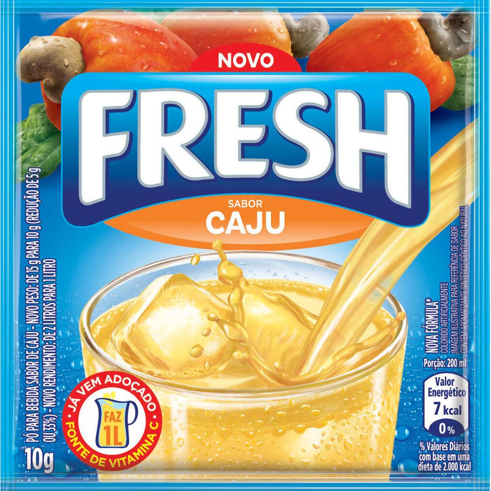 REFRESCO FRESH 10G CAJU DP X15