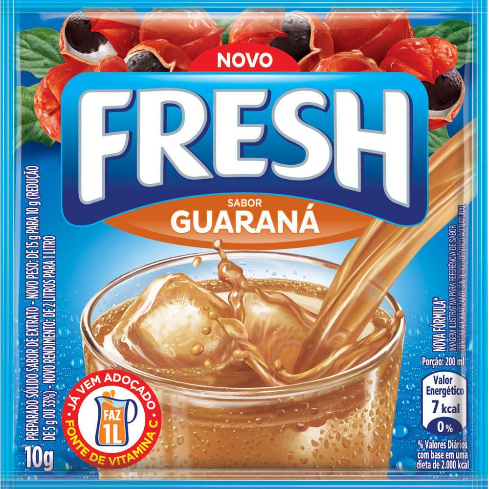 REFRESCO FRESH 10G GUARANÁ DP X15