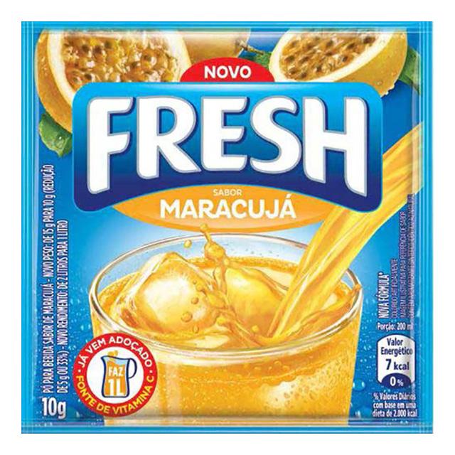 REFRESCO FRESH 10G MARACUJÁ DP X15