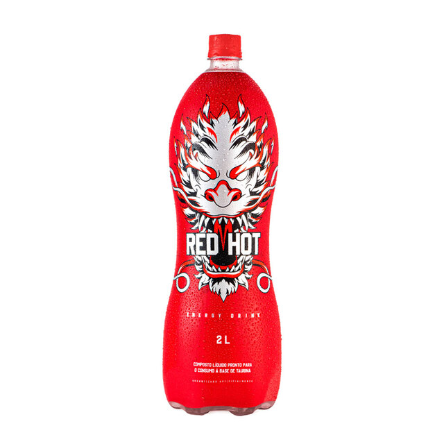 ENERGETICO RED HOT 2LT X6
