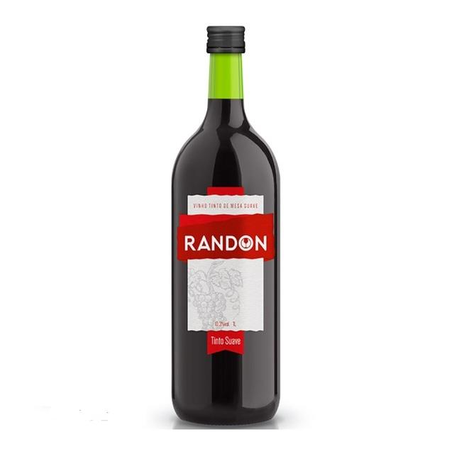 VINHO RANDON TINTO SUAVE 1 LT