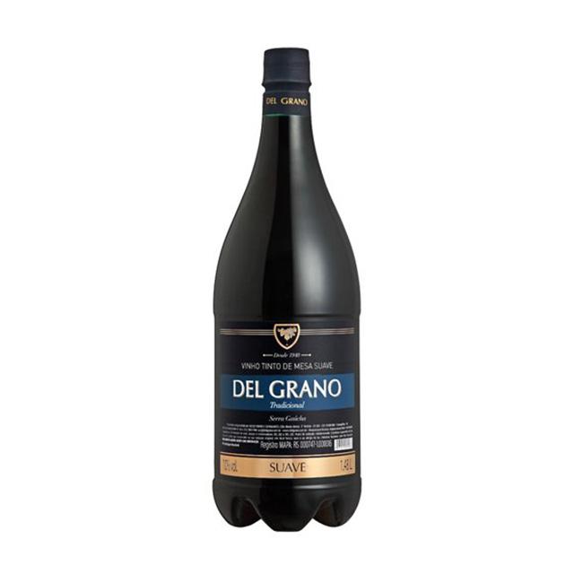VINHO DEL GRANO TINTO SUAVE 1480ML