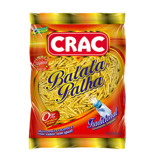 BATATA PALHA CRAC 70G TRADICIONAL