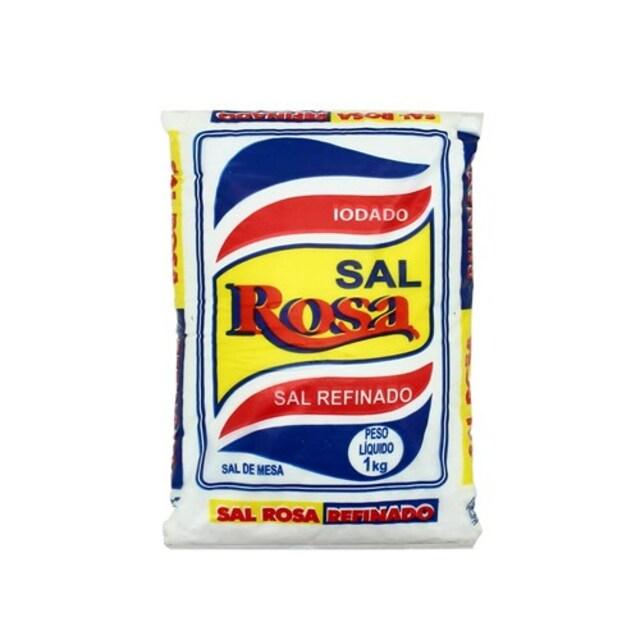 SAL ROSA REFINADO 1KG X10