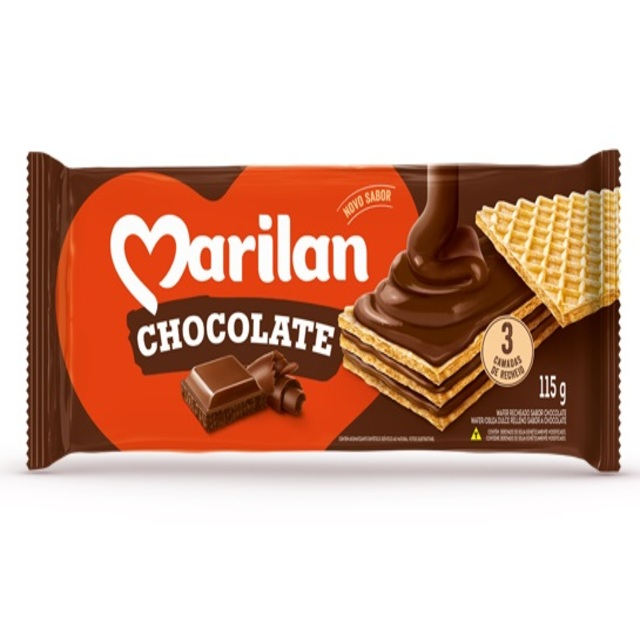 WAFER MARILAN CHOCOLATE 115G
