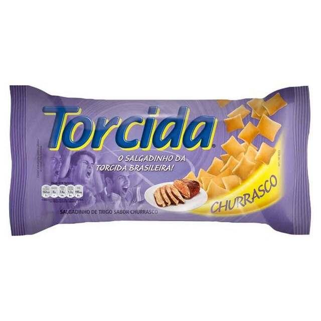 SALGADINHO TORCIDA 70G CHURRASCO