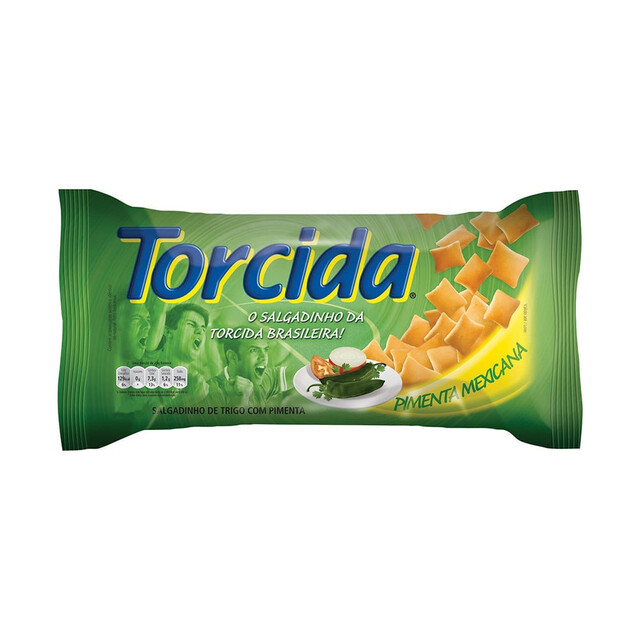 SALGADINHO TORCIDA 70G PIMENTA MEXICANA