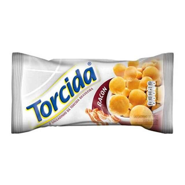 SALGADINHO TORCIDA 70G BACON