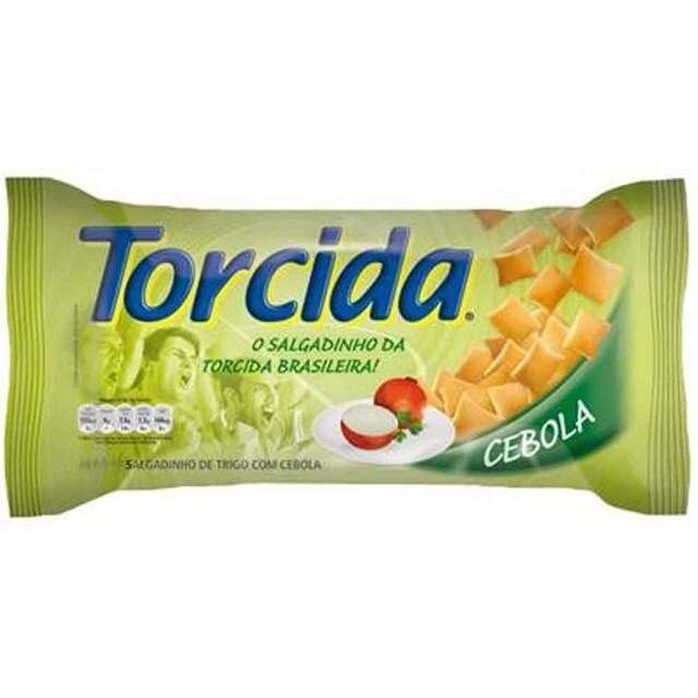 SALGADINHO TORCIDA 70G CEBOLA