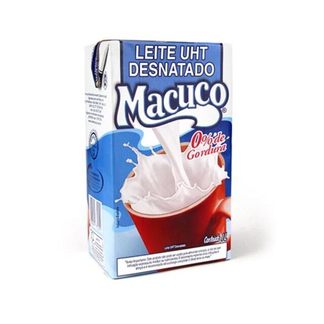 LEITE DESNATADO MACUCO 1L X12