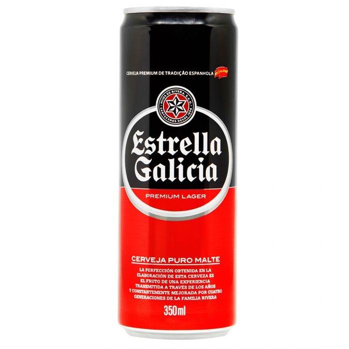 CERVEJA ESTRELLA GALICIA LATA 350ML X12