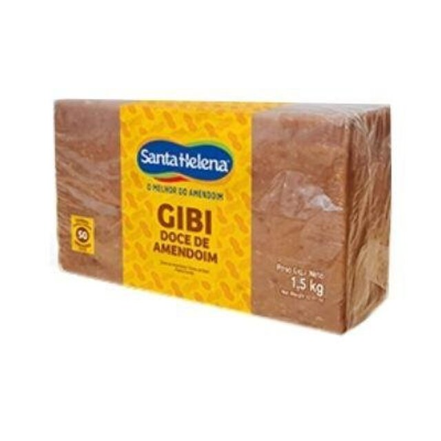DOCE DE AMENDOIM GIBI 1,5KG