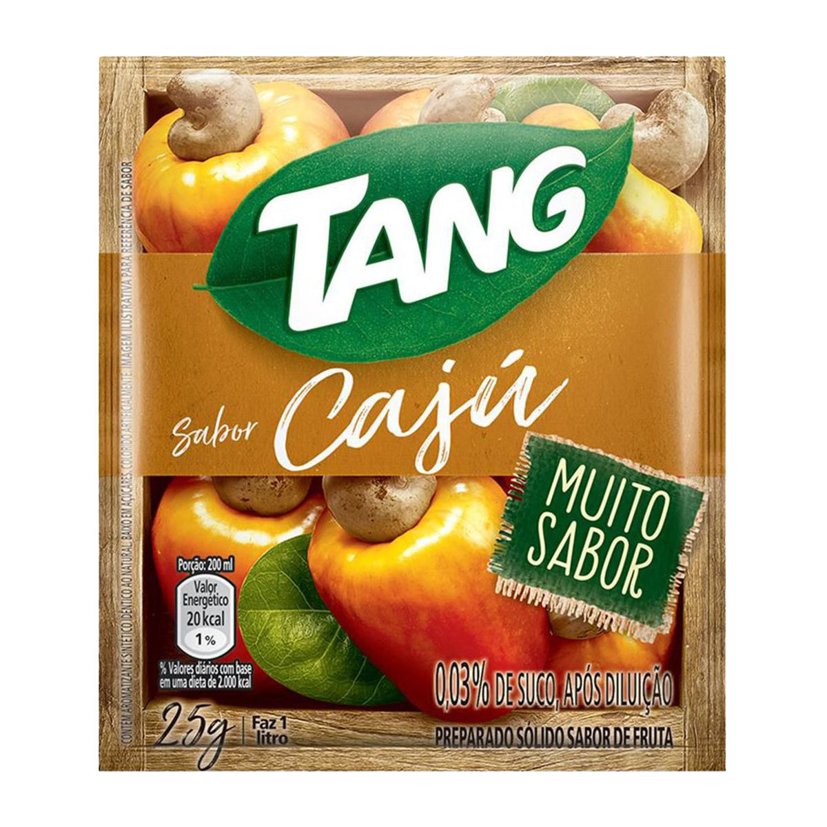 REFRESCO TANG 25G CAJU DP X15